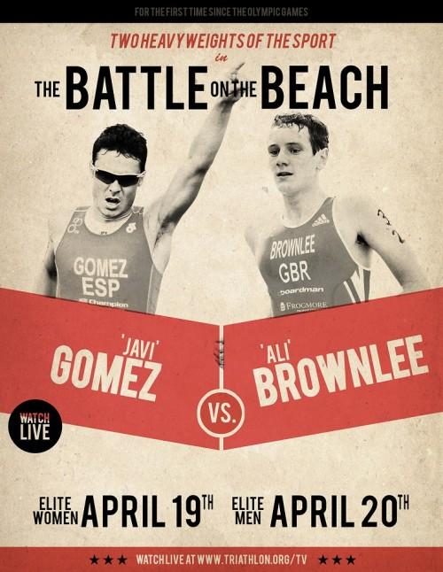 the battle on the beach